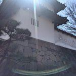 「高崎城址」重要指定文化財の高崎城東門と乾櫓がみられる お花見スポットでもある公園[2016年3月高崎ぶらり旅 その1]
