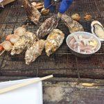 「ゆりあげ港朝市」格安で買える獲れたての新鮮魚介類は、その場で手ぶらで炭火焼できるんです! [2016年6月宮城旅行記 6]