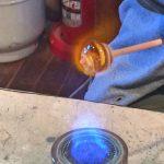 「小樽硝子の灯・彩や」で「とんぼ玉制作体験」自分だけのオリジナルのとんぼ玉が15分ほどでできちゃうんです[2016年8月 札幌・小樽旅行記 その15]