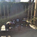 「土方歳三最期の地碑(一本木関門跡)」土方歳三がその最期を遂げたとされる、たくさんのファンの人が訪れる聖地[2016年11月 函館旅行記 その18]