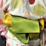 「花ごよみ(六本木店)」レンタル浴衣で気軽に和服体験 当日の着付けの様子