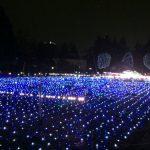 東京ミッドタウンのイルミネーション「スターライトガーデン」青と白の光が広がる電飾の絨毯は必見です!