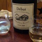 「若竹屋 debut 純米 無濾過生原酒(福岡)」ワインのようなラベルと日本で最初の酵母を使ったフレッシュな日本酒