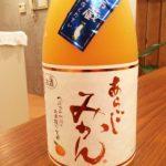 「梅乃宿 あらごしみかん(奈良)」デザート感覚で飲める 日本酒ベースのみかんのお酒