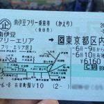 JR「南伊豆フリー乗車券」伊豆を超お得に回るならコレ! 都内・横浜方面からの乗車券+フリーエリア内はバスも電車も利用できる便利な切符[2016年6月伊豆旅行記  12]
